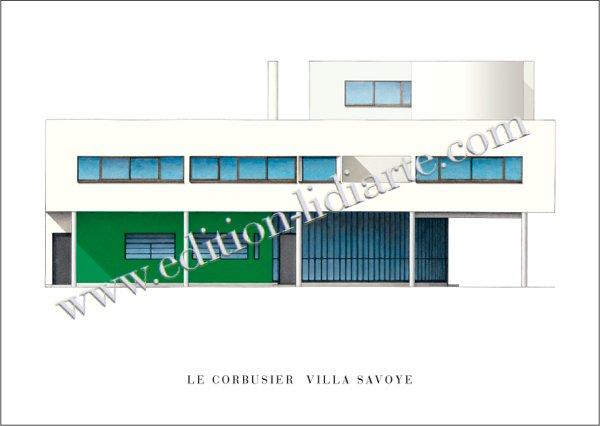 Le Corbusier, Villa Savoye, Nord - Est