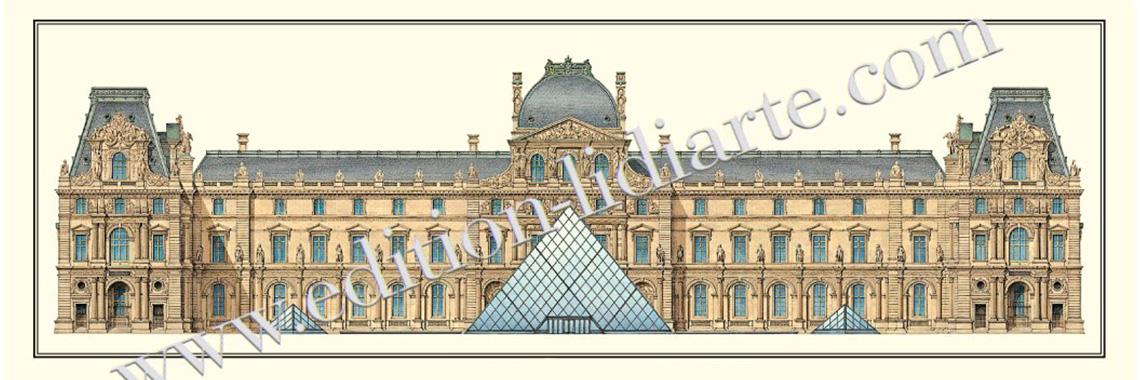 Paris, Louvre, Cour Napoléon