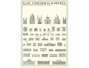 Karl Friedrich Schinkel, Bauten und Entwürfe