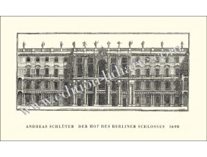 Der Schlüterhof des Berliner Schlosses