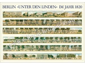 Berlin, 'Unter den Linden' im Jahr 1820