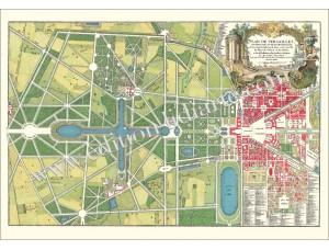 Versailles, Parkplan