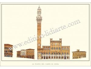 La Piazza del Campo di Siena