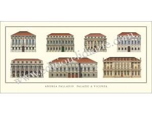 Andrea Palladio, Palazzi a Vicenza
