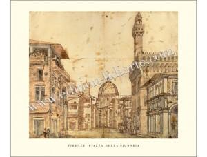 Firenze, Piazza della Signoria, 1569