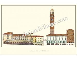 La Piazza delle Erbe di Verona