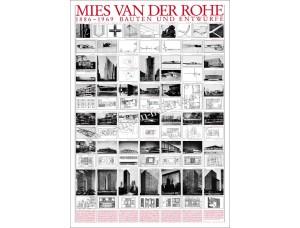 Mies van der Rohe, Bauten und Entwürfe