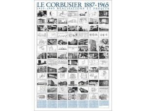 Le Corbusier, Réalisations et projets