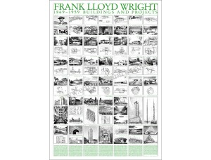 Frank Lloyd Wright, Buildings and projects