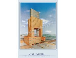 O.M.Ungers, Torhaus Frankfurter Messe, 1983