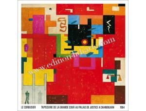 Le Corbusier, Wandteppich für Chandigarh, 1954