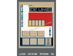 J.J.P. Oud, Café De Unie, Rotterdam, 1925
