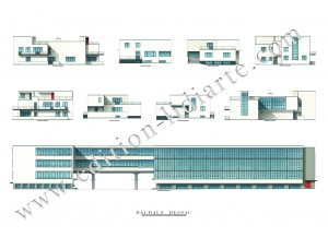 Walter Gropius, Dessau, Bauhaus
