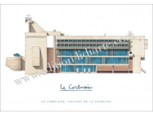 Le Corbusier, Couvent de la Tourette